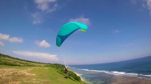Paragliding-Nusa Dua-Tandem Paragliding flight from Timbis Beach around Nusa Dua, Bali-10