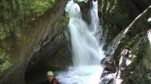 Canyoning-Laino Borgo-Canyoning down river Iannello in Laino Borgo, Calabria-6
