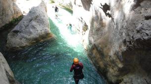 Canyoning-Malaga-Canyoning Excursion at Rio Verde Gorge near Malaga-1
