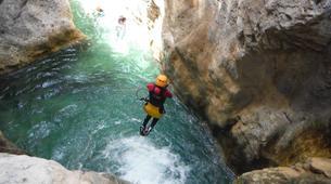 Canyoning-Malaga-Canyoning Excursion at Rio Verde Gorge near Malaga-3
