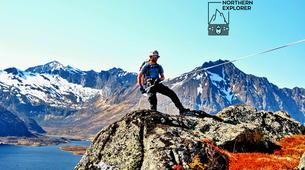 Hiking / Trekking-Lofoten-Trekking and rappel excursion in Eggum, Lofoten-1