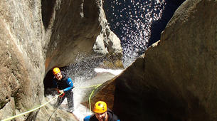 Canyoning-Céret-Gourg des Anelles canyon in Céret, Pyrenees-4