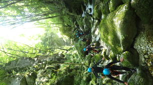 Canyoning-Grenoble-Canyon of Furon Haut in Grenoble-4