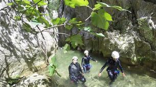 Canyoning-Aude-Canyon Débutant des Gorges de Galamus, dans l'Aude-2