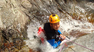 Canyoning-Céret-Gourg des Anelles canyon in Céret, Pyrenees-1