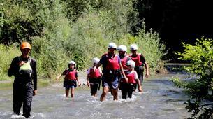 Canyoning-Laino Borgo-Canyoning down river Iannello in Laino Borgo, Calabria-5