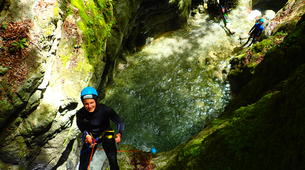 Canyoning-Annecy-Canyon d'Angon à Annecy-1