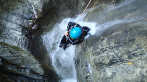 Canyoning-Annecy-Canyon of Montmin near Annecy-1