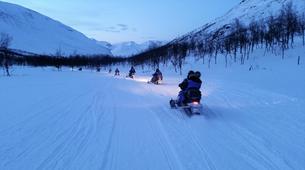 Motoneige-Tromsø-Snowmobile + Ice Domes excursion in Tromsø-2