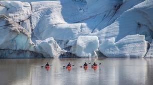 Kayaking-Reykjavik-Kayak in Sólheimajökull Glacier Lagoon-1