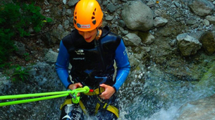 Canyoning-Salzbourg-Canyoning excursion to Fischbach Gorge near Salzburg-6
