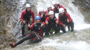 Canyoning-Lechtal-Canyoning in Wiesbach, Lechtal-5
