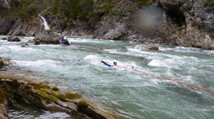 Canyoning-Lechtal-White water swimming, Lechtal-2