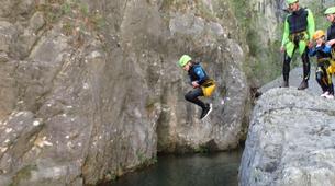 Canyoning-Lac de Garde-Family Canyoning Tour in Lake Garda-1