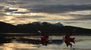 Sea Kayaking-Tromsø-Midnight Sun sea kayaking in Tromsø-3