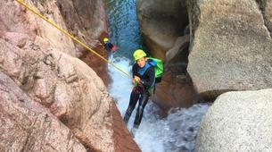 Canyoning-Morosaglia-Excursions Canyoning depuis Ponte Leccia en Haute-Corse-6