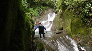 Canyoning-Vega de Pas-Ajan Canyon in Vega de Pas, Cantabria-1