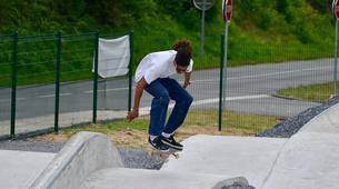Skateboarding-Arcachon-Cours de Skateboard à Salles-6