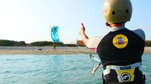 Kitesurfing-Larnaca-IKO Kitesurfing Lessons in Softades near Larnaca-4