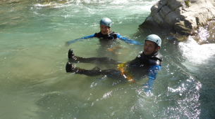 Canyoning-Lechtal-White water swimming, Lechtal-1