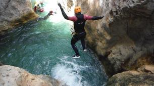 Canyoning-Malaga-Canyoning Excursion at Rio Verde Gorge near Malaga-2