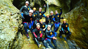 Canyoning-Salzbourg-Canyoning excursion to Strubklamm Gorge near Salzburg-4