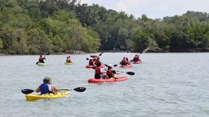 Kayak de mer-Singapour-Kayaking tour to Ketam Island from Pulau Ubin-2