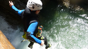 Canyoning-Lechtal-Canyoning in the Hochalpschlucht, Lechtal-6