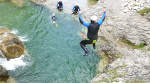 Canyoning-Lechtal-Canyoning in the Stuibenfälle, Lechtal-1