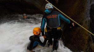 Canyoning-Prades-Canyon de Molitg à Molitg-les-Bains, La Castellane-3