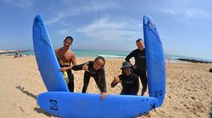 Surfing-Caleta de Fuste, Fuerteventura-Beginner's Surfing Courses in Caleta de Fuste-4