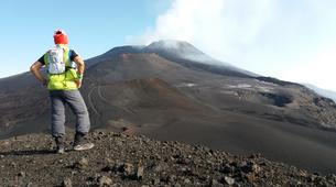 Randonnée / Trekking-Mount Etna-Hiking to the Summit of Montagnola (2,640m), Mount Etna-1