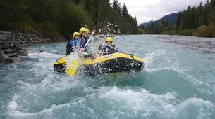 Rafting-Lechtal-Miniraft adventure on the river Lech in Tyrol-5