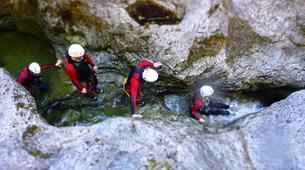 Canyoning-Berchtelsgadener Land-Canyoning tour in the Almbachklamm, Berchtesgaden-1