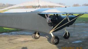 Microlight flying-Lille-Microlight initiation flight near Lille-4