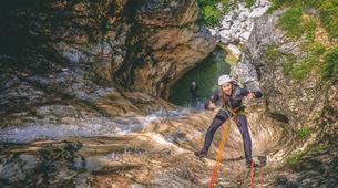Canyoning-Bled-Extreme Canyoning in the Soča Valley, near Bled-5