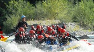 Rafting-Berchtelsgadener Land-Rafting on the Saalach river, Bavaria-5