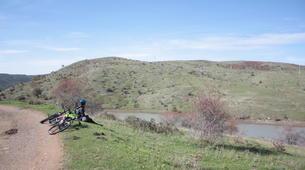 Mountain bike-Parco di Nebrodi-MTB Lago Trearie e Lago Cartolari-5