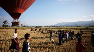 Hot Air Ballooning-Nyaungshwe-Private hot air balloon safari in Myanmar's Southern Shan State-4