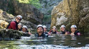Canyoning-Berchtelsgadener Land-Canyoning tour in the Almbachklamm, Berchtesgaden-5
