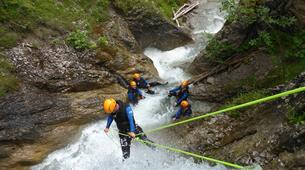 Canyoning-Lechtal-Beginners Canyoning in the Lechtal in Tyrol-6