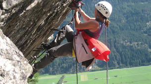 Via Ferrata-Ötztal-Via Ferrata at Lehner Waterfall in Tyrol-1