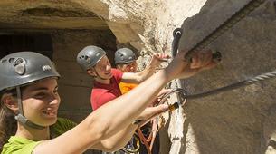 Via Ferrata-Avallon-Via Ferrata de la Grotte de Champ Retard en Bourgogne-1