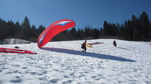 Paragliding-Tegernsee-Paragliding course at the Tegernsee in Southern Germany-3