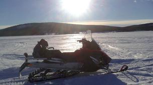Motoneige-Kiruna-Snowmobile excursion to ICEHOTEL from Kiruna-1