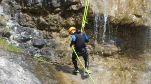 Canyoning-Lechtal-Advanced Canyoning in the Lechtal in Tyrol-4