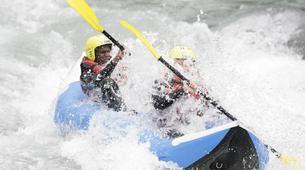Rafting-Lac de Serre-Ponçon-Descente de la Durance en Cano-raft à Embrun-5