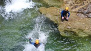 Canyoning-Lechtal-Beginners Canyoning in the Lechtal in Tyrol-4