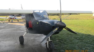 Microlight flying-Lille-Microlight initiation flight near Lille-1