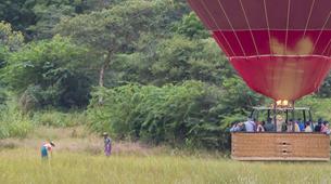 Montgolfière-Bagan-Vol en montgolfière au dessus du site archéologique de Bagan-6
